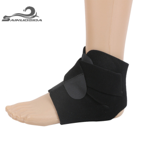 Ankle Foot Orthosis Elastic Compression Lace Up Ankle Brace/Wrap/Belt With Medicine Bag