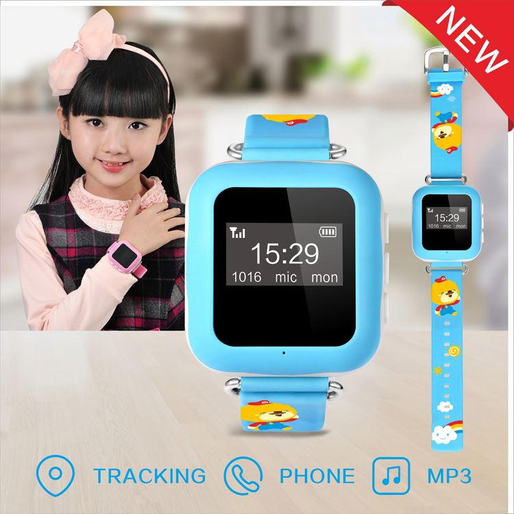 Manufacturer wholesale 2016 latest cheapest waterproof 3G mini MP3 gps watch phone