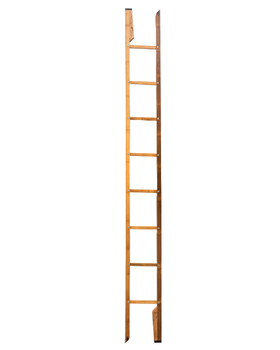 Natural decorative bamboo ladder factory price