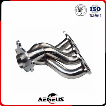 Stainless Exhaust Chrome Headergasket For Acura Rsx Base Non - Acura rsx type s exhaust