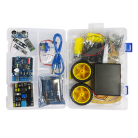 Line-Track Ultrasonic Sensor 2WD Chassis Smart Robot Car Kit For Arduinos Uno R3