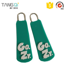 China Direct Factory zipper puller with logo cord mold
