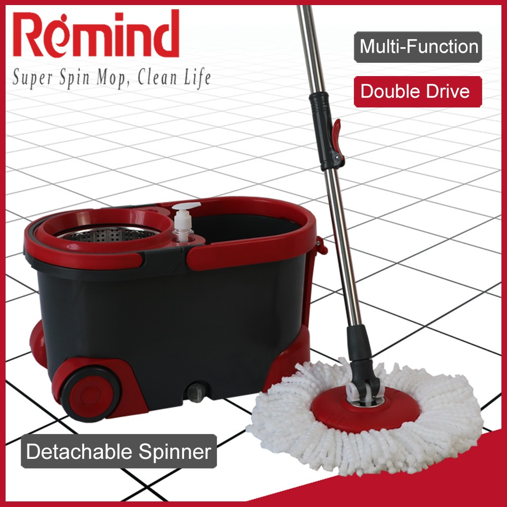 Wholesale Easy Magic Spin Mop 360 and Walkable Wheels Mop Bucket