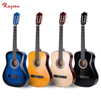 38 inch basswood classic guitar cheap price wholesale