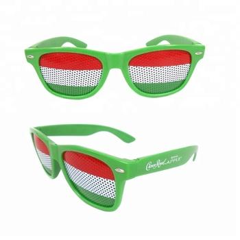 f89f761908 Brightlook URO UEFA sun shade american flag custom promotional sunglasses  no minimum