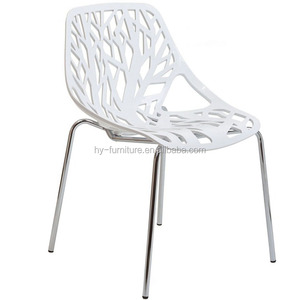 high quality plastic chair tree chair for sale white tree chairs HYL-040
