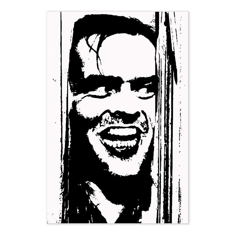"""The Shining movie collage poster 24 x 36/""""  Jack Nicholson  Heres Johnny"""