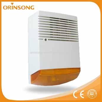 Outdoor siren with strobe light battery backup osl84 12v - Exterior light with battery backup ...