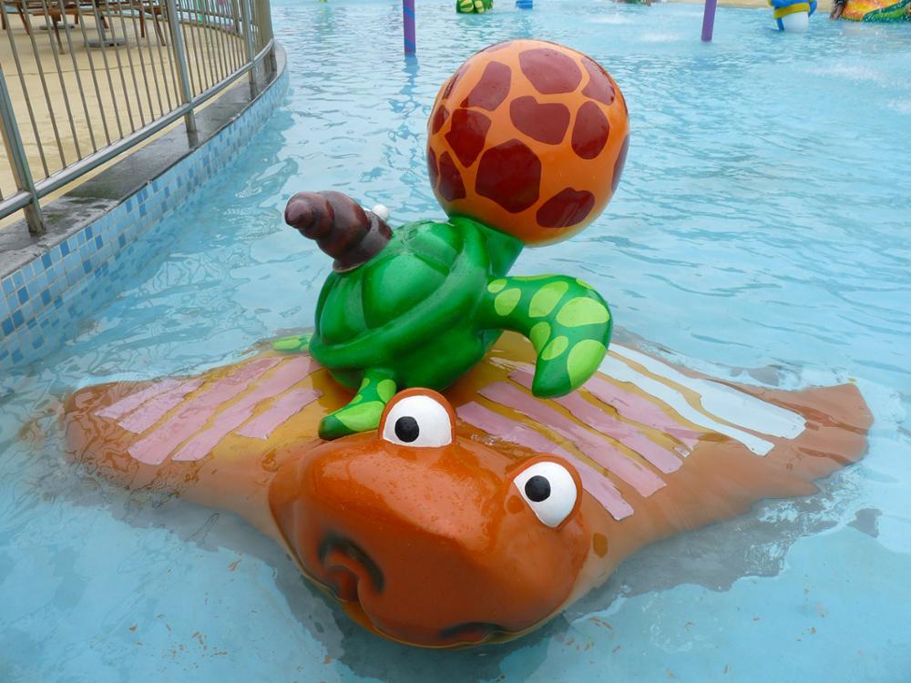 Qingfeng carton fair rainbowmushroom spray water park mushroom water splash water park for swimming pool