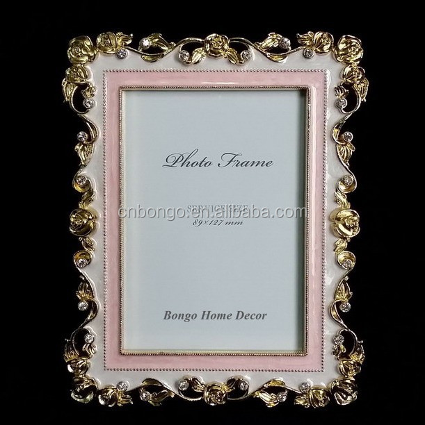 9x13 vintage metal alloy photo picture frame for home decor