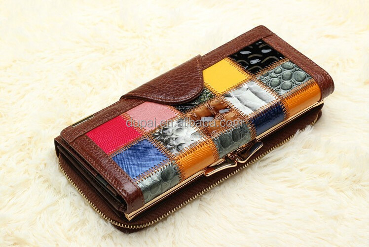 Handmade genuine leather women's wallet