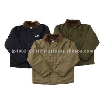 Japanese Navy Deck Jacket  aa4eccb95f4