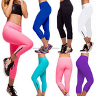 cheap Ladies Fitness Yoga Running Leggings Gym Exercise Sports Pants Trousers wear