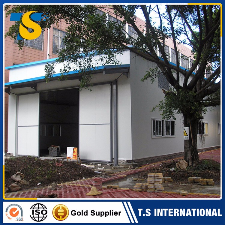 Convenient earthquake resistance portable warehouse metalic roof structure car mechanical workshop