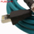 IP67 IP68 Waterproof Industry Ethernet 8 Pin Male M12 x Code to RJ45 Cable