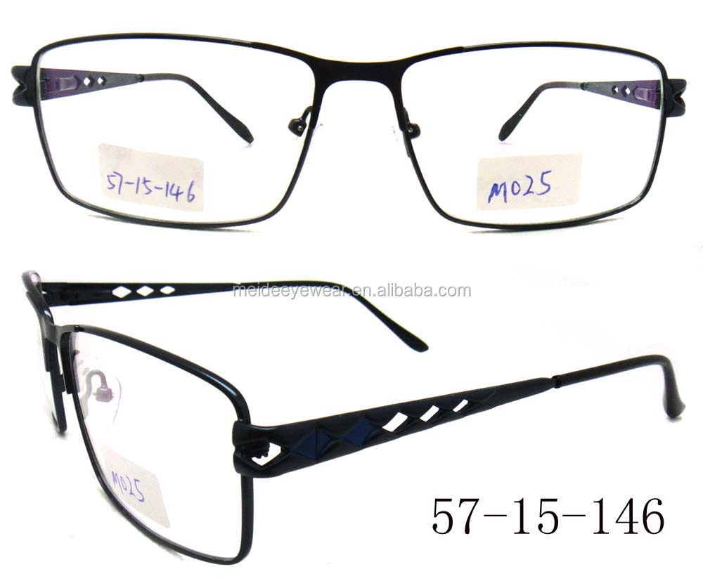Latest metal brand designer fashion men cheap good quality eyewear optical frames glasses