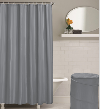 Heavy Duty 100 Peva Bath Curtain Solid