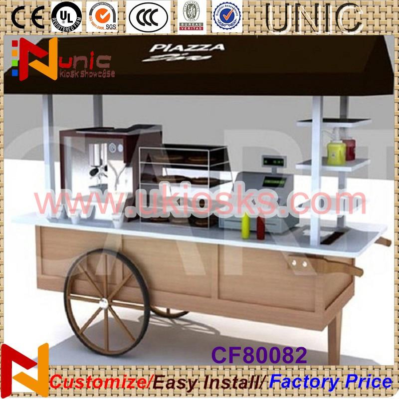 Customized For Food Vending Cart Design Outdoor Food Cart