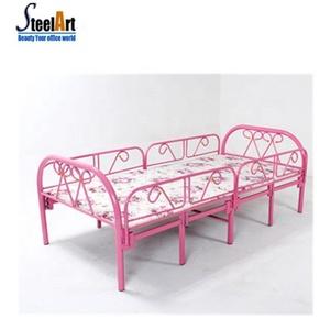 Ordinaire Safty Bed For Kids Metal Folding Bed Steel Single Bed