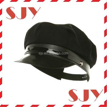 77f784ccc 100%cotton Chauffeur Hat Flat Top Military Sailor Captain Hat - Buy  Chauffeur Hat,Custom Sailor Hats,Sailor Captain Hat Product on Alibaba.com