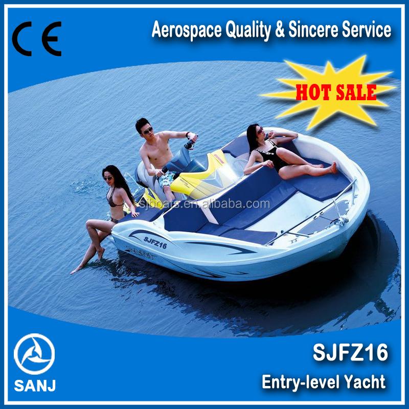 Ce Approved Sjfz16 Wave Boat Match With Sea Dance Jet Ski