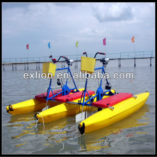 Best Price Of Aquatic Bike For Family/amusement Park Water Pedal ...