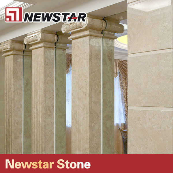 Newstar wholesale square marble columns decoration column for Where to buy columns for house