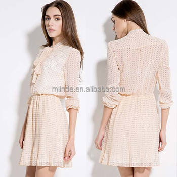 Fashion Design High Quality Long Sleeve Casual Dresses In Dubai Special Y Short Women New