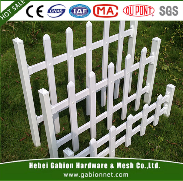 Plastic Garden Fence Lawn Edging Stakes