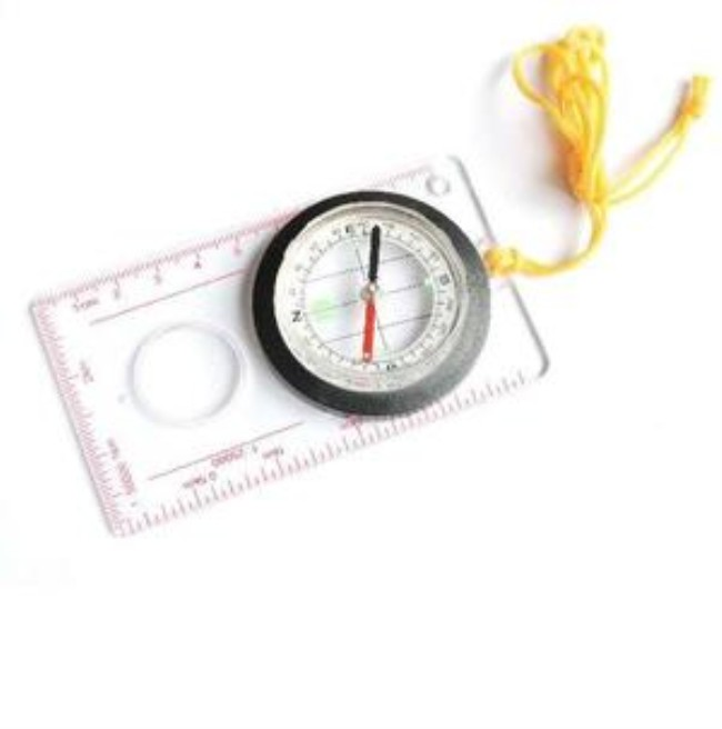 Plastic Map Drawing Comp And Qibla Direction Finder Comp - Buy Ruler on