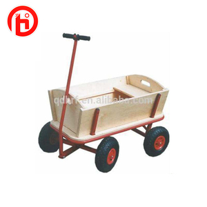 Good quality and garden wooden tool cart TC1812M for children
