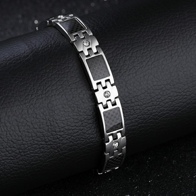 d381dc905c47 Marlary Venta caliente japonés de Salud de acero al carbono de acero  inoxidable fibra pulsera para