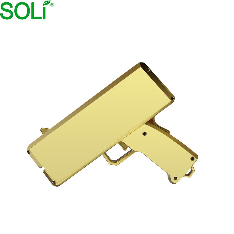 Amazon 2019 Golden cash gun money spay gun Money Gun gold toy