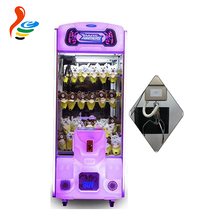 2017 New coin operated mini gift prize claw crane vending machine toy crane from Guangzhou China for sale