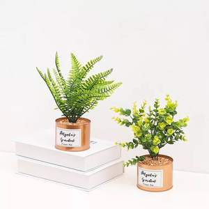 Simple style decoration potted artificial plant