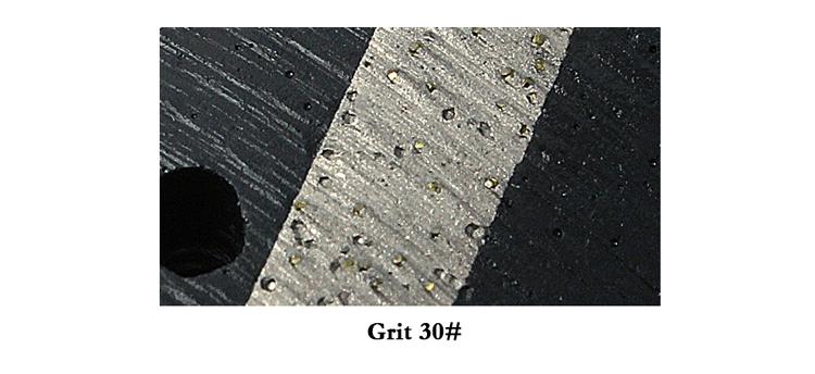 Diamond Zero Tolerance Polishing Drum Wheels for granite hard stone grinding