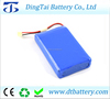 rechargeable 5 volt led light battery 5v 8000mah backup lipo battery for led light