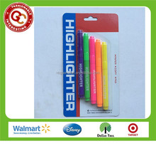 Newest novelty 5 colors highlighter pen