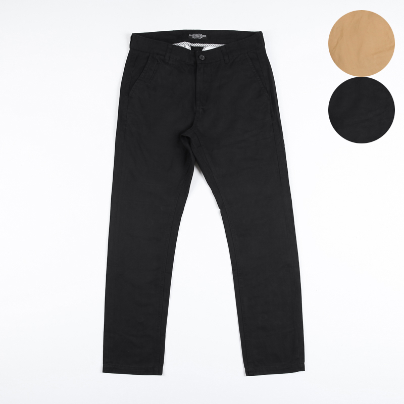 XQS Mens Trousers Sport Pure Color Sweatpants Drawstring Pencil Pants