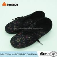 China factory cheap made flat shoes fashion dress for women