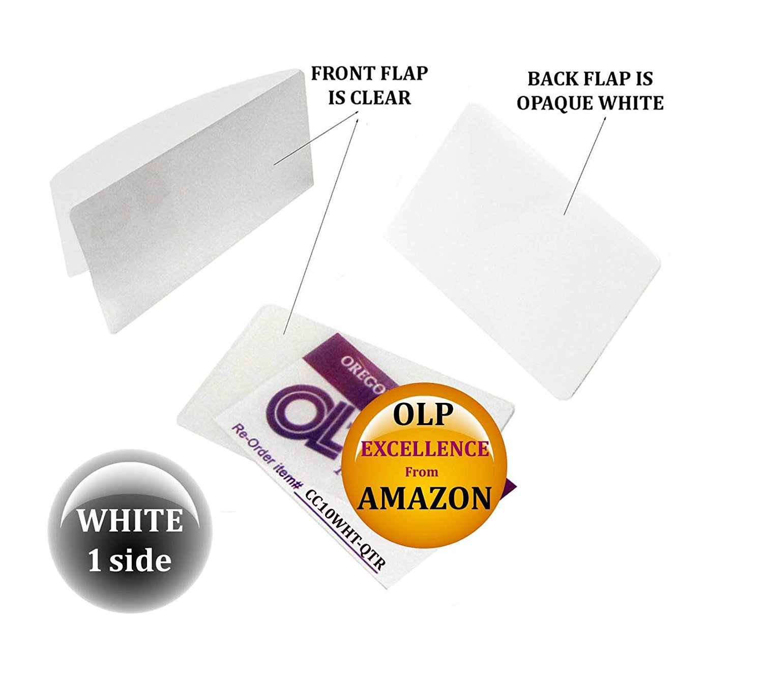 LAM-IT-ALL Hot Laminating Pouches Credit Card (pack of 25) 10 mil 2-1/8 x 3-3/8 White/Clear