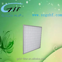 Cheap air handling unit industrial disposable panel pre filter