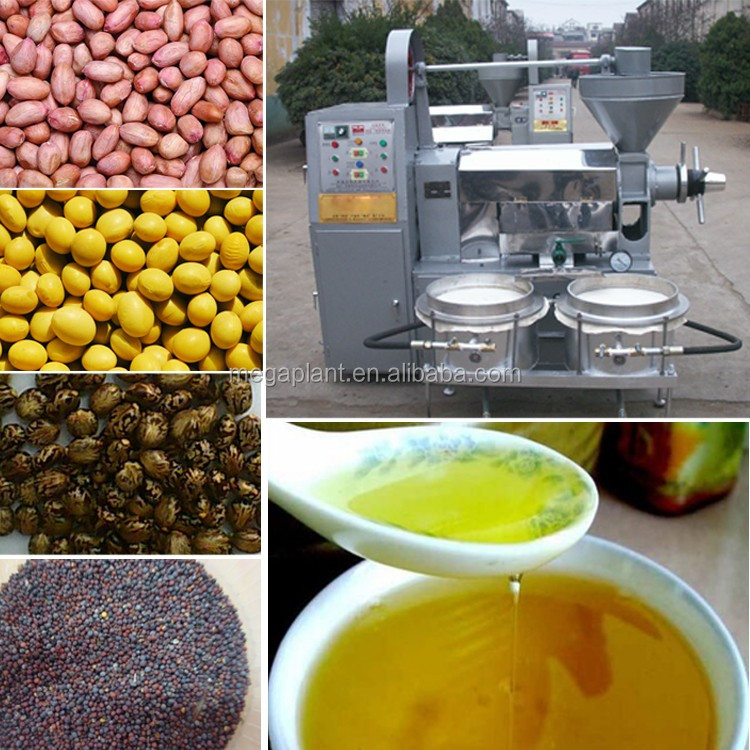 Factory Supply Seeds Oil Presser Machine Coconut Oil Presser Oil Extractor With Filter