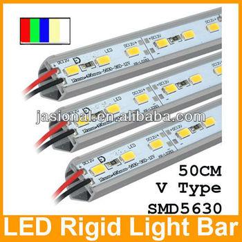 Smd5630 0.5m 1m Led Rigid Strip Light Bar Jewelry Showcase Display ...