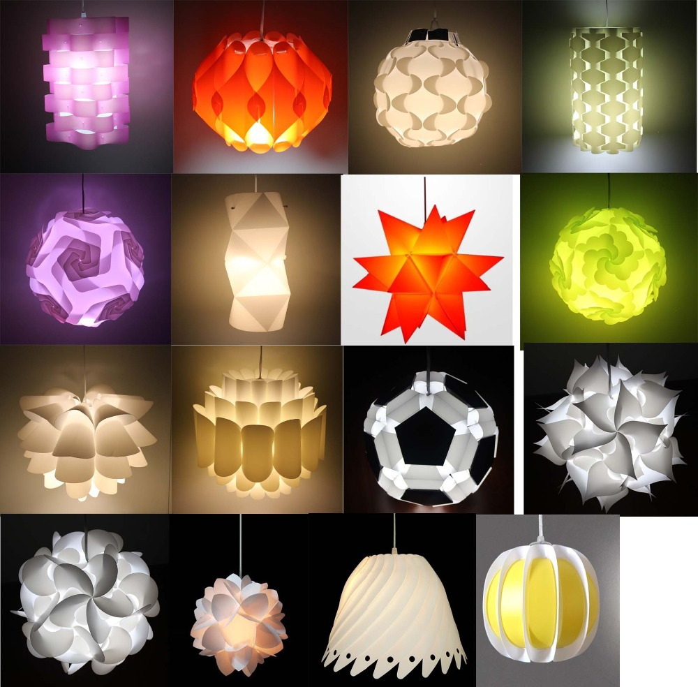 Diy led ceiling light iq jigsaw lotus flower pp lamp shade buy diy led ceiling light iq jigsaw lotus flower pp lamp shade aloadofball Choice Image