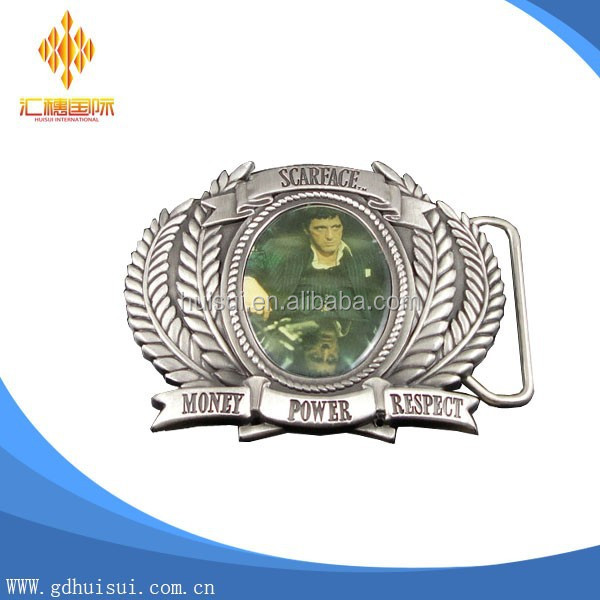 Western Pin turning buckles for belt ZINC ALLOY Reversible buckle