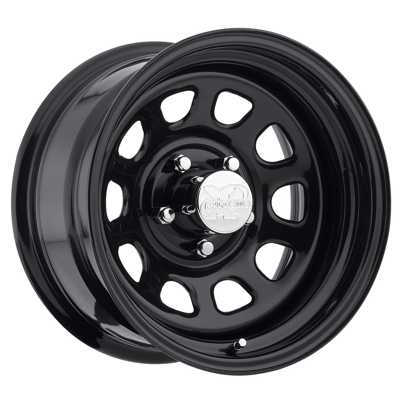 "Pro Comp Steel Wheels Series 51 Wheel with Gloss Black Finish (17x9""/8x6.5"")"