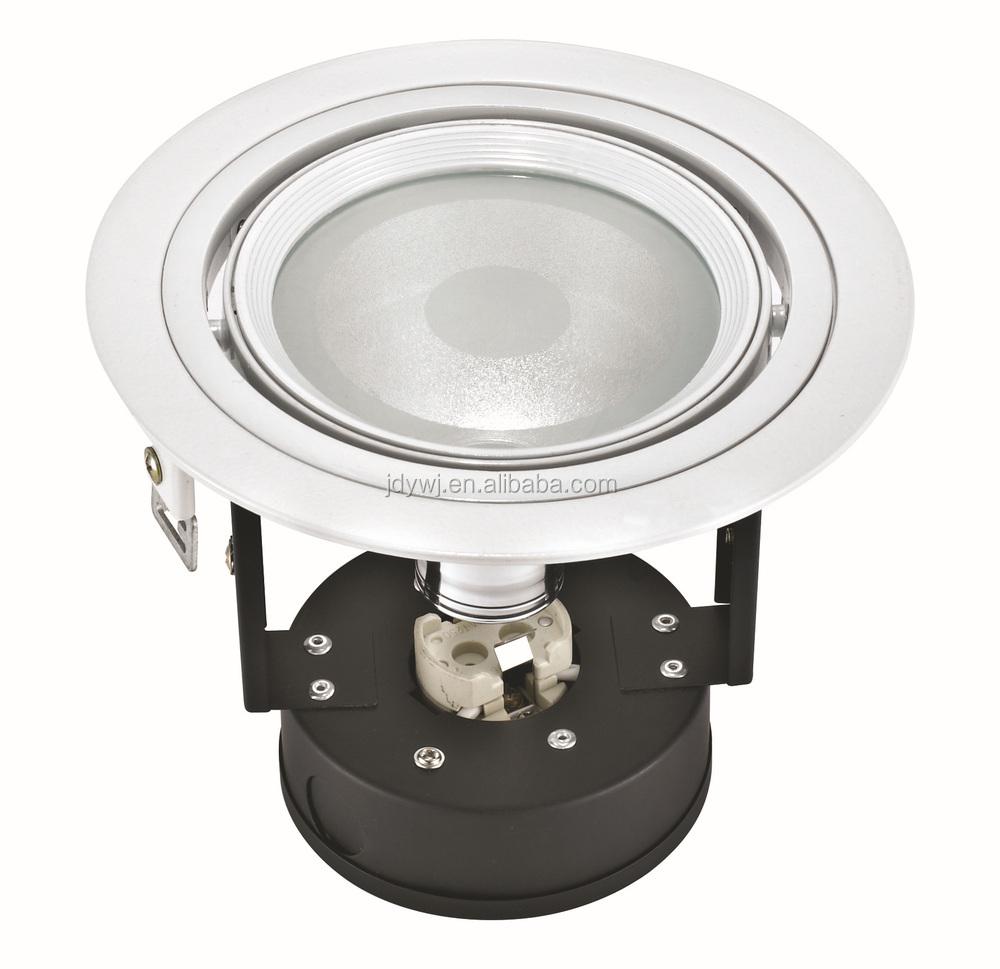 Ar111 Light Source Ivory Lamp Shades Led Light Fittings