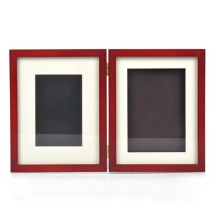Wholesale pet memory photo frame box with clay