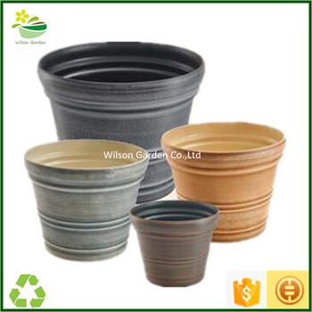 decorative cheap outdoor plastic plant pots wholesale for. Black Bedroom Furniture Sets. Home Design Ideas